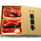 能登牛ステーキ用ヒレ肉とすき焼き用もも肉